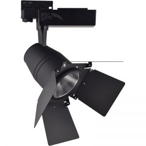 ΦΩΤΙΣΤΙΚΟ ΡΑΓΑΣ 4-LINE 30W COB THEATRE BLACK DIMMABLE & COLOUR CHANGE