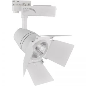 ΦΩΤΙΣΤΙΚΟ ΡΑΓΑΣ 4-LINE 30W COB THEATRE WHITE DIMMABLE & COLOUR CHANGE