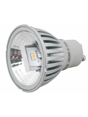 GU 10 5W COB  24o DIMMABLE WARM